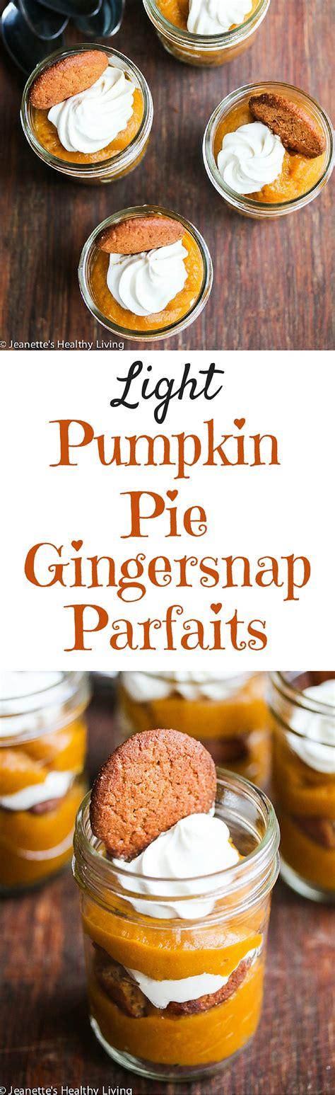 light pumpkin dessert recipes light pumpkin pie gingersnap parfait recipe this easy to