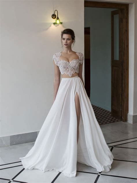 possibly most epic selection two piece wedding