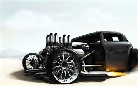 Free Car Wallpapers Rods by Rat Rod Wallpapers Wallpaper Cave