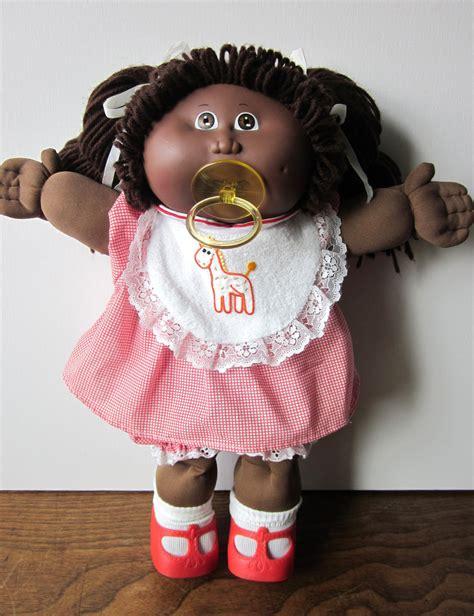 black doll value reserved for lovediane112712 vintage cabbage patch kid doll