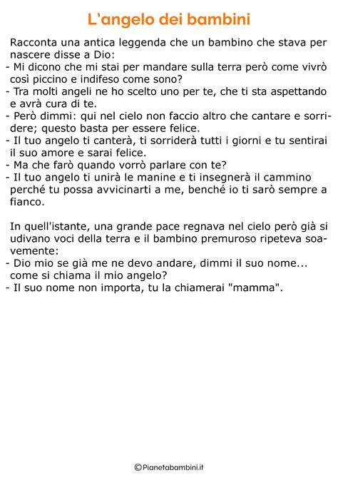 E Testo by Testi Sulla Mamma Per La Scuola Primaria Pianetabambini It