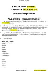 After Report Template after report template for excel pdf and word