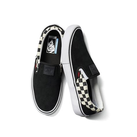 Vans X Thrasher Slip On Pro Checkerboard vans x thrasher slip on pro blk checkerboard fier skateshop dordrecht