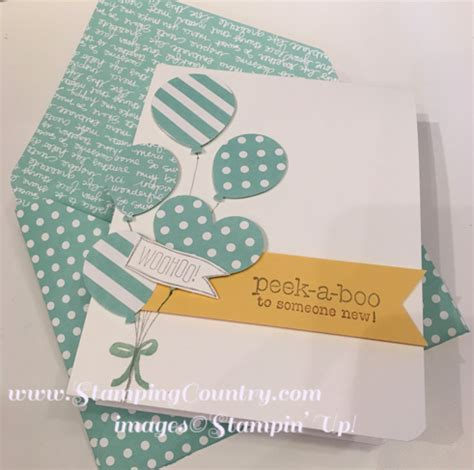 Handmade Baby Boy Cards - handmade baby boy card sting country