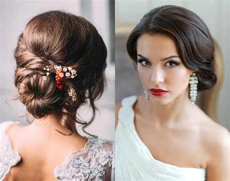 Wedding Hair Buns For Hair by Low Bun Wedding Hairstyles 2017 Hairdrome