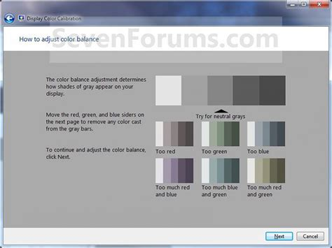 display color calibration display color calibration windows 7 help forums