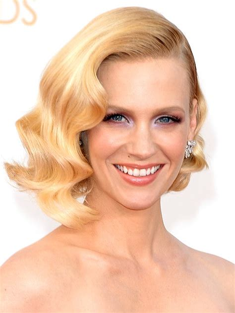 january jones actress hairstyles chic short bob haircuts inspired by celebrities