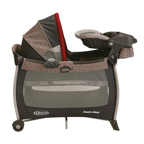 graco gray changing table pack n play changing table attachment graco pack n play