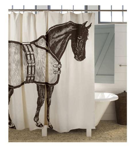 equestrian shower curtain 5 awesome bathroom decor ideas