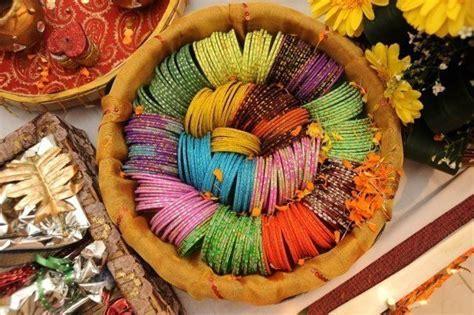dala full of churis   Bengali Wedding Ideas   Pinterest