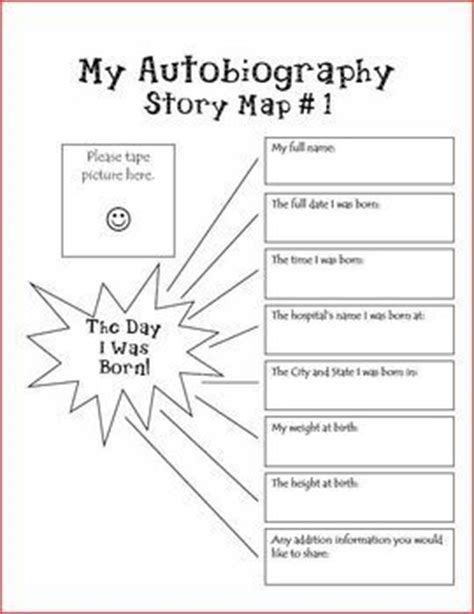 biography planning template 25 best ideas about autobiography writing on