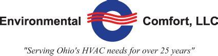 environmental comfort environmental comfort llc serving ohio s hvac needs