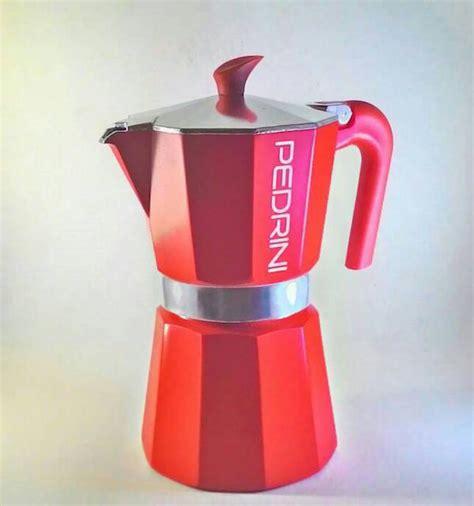 Pedrini Sei Moka Coffee Teko Kopi Moka Pot Alumunium 3 Cup Silver yuk belanja 6 alat manual brew coffee di