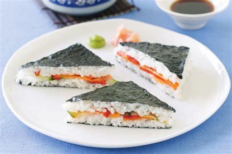 Easy Salad Recipe by Sushi Sandwiches Recipe Taste Com Au