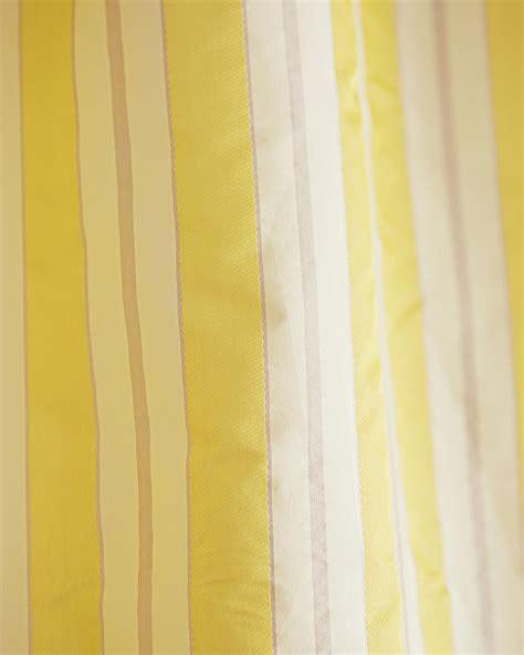 vorhang gelb vorhang gelbe streifen