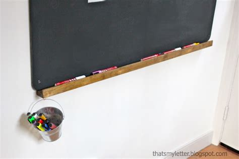 chalkboard ledge diy how to build a wall chalkboard with a chalk ledge
