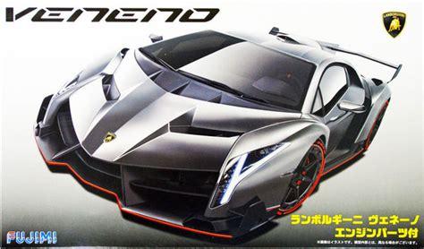 Lamborghini Veneno Engine Lamborghini Veneno With Engine Fujimi 12592