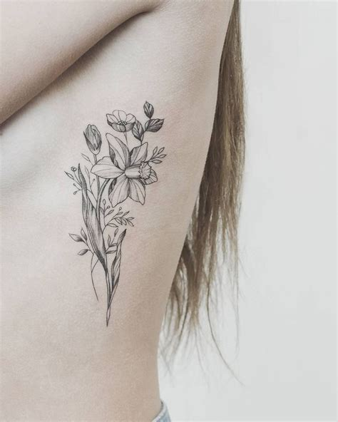 narcissus tattoo 25 best ideas about daffodil on