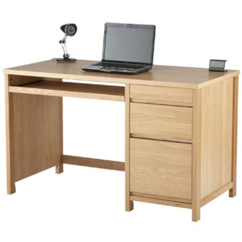 home office computer desk home office desk 120 mm oak staples 174