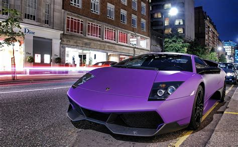 Matte Purple Lamborghini Murcielago SV 1   1   MadWhips