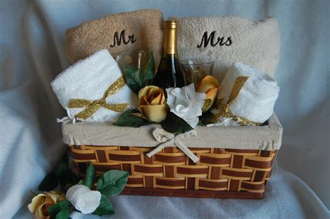Wedding Baskets by Wedding Gift Baskets For And Groom Lamoureph