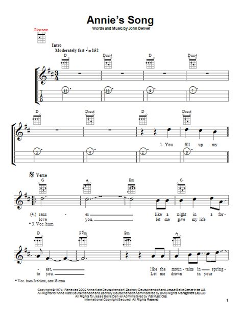 printable lyrics annie s song john denver annie s song sheet music direct