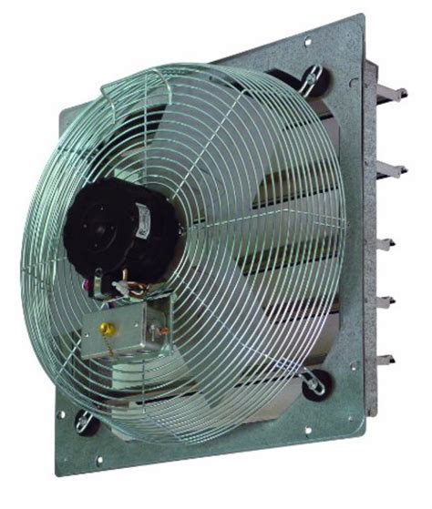 10 inch exhaust fan shutter fan usa