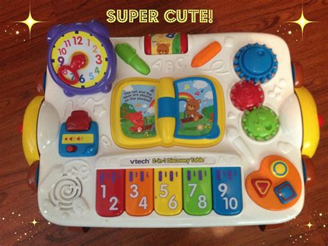 vtech busy play table vtech 2 in 1 discovery table play and draw so much to