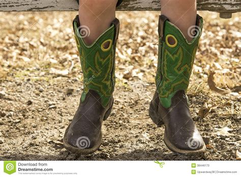 wearing cowboy boots cowboy boots stock image image of wearing