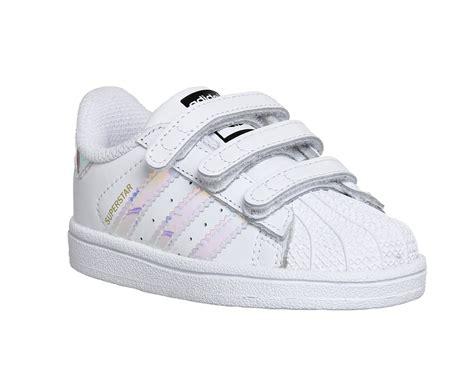 Adidas Superstar 9 adidas superstar infant 2 9 white metallic silver