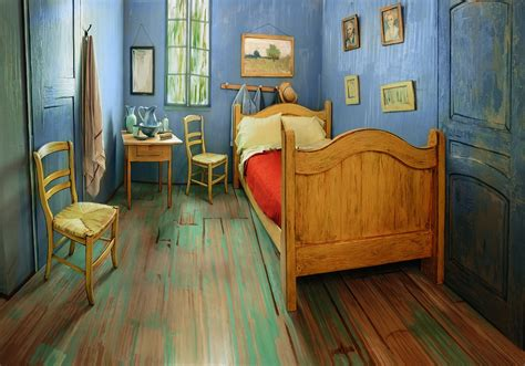 spend the in gogh s bedroom artnet news