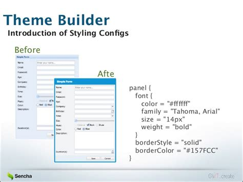 sencha themes builder gwt create 2013 introduction to gxt