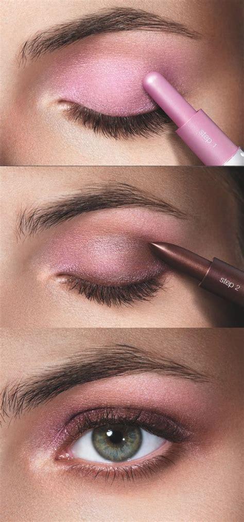 pink smokey eye makeup  sparkling eyes ohh