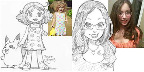 preguntas faciles para niños de disney bocetos a l 225 piz estilo anime dibujados por encargo