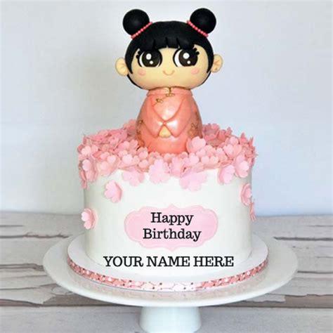 write   cute kids birthday cake   pic
