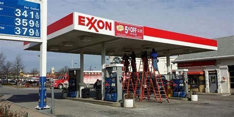 exxon mobil stations exxon gas station in takoma park cs koida llc