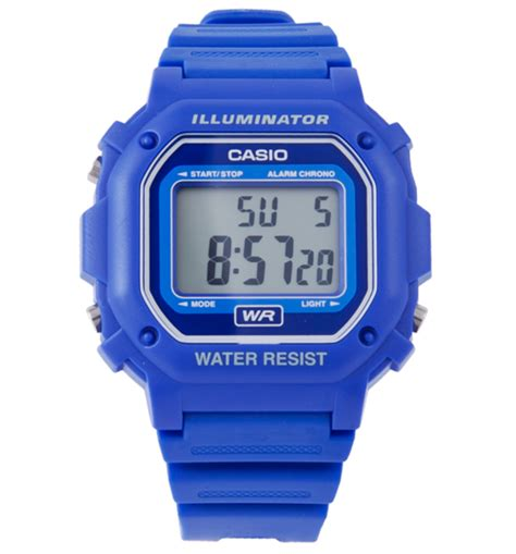 Jam Tangan G Ci 808 Blue casio illuminator gambar foto jam tangan