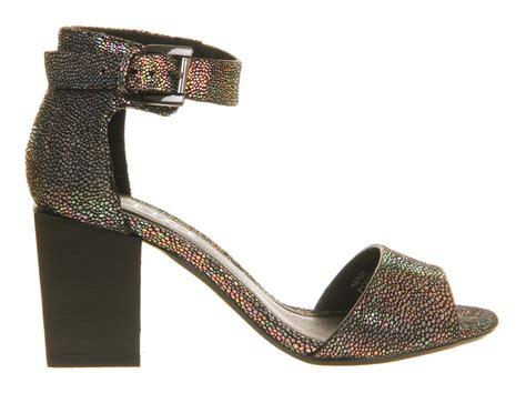 Sandal Gosh Original Sale office gosh block heel sandal holographic mid heels