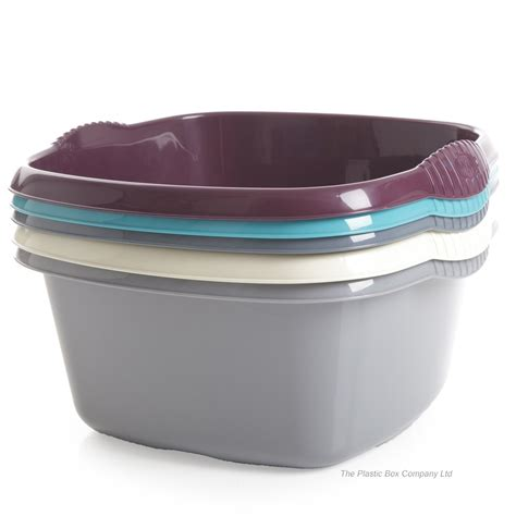 plastic bowls buy 32cm casa square plastic washing up bowl plastic
