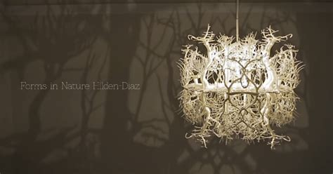 Chandelier Makes A Forest Of Your Dining Room Forms In Nature Chandelier