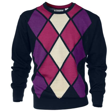diamond pattern golf jumper the 14 best images about mens golf clothing on pinterest