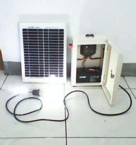 Paket Lu Taman Solar Cell 20wp paket shs 50 80 100 wp jual paket plts tersebar