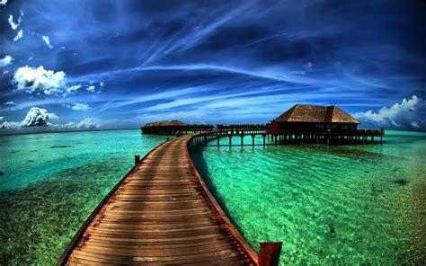 Download widescreen wallpaper, Maldives