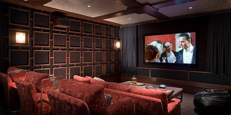 Magnolia Homes modern desert home traditional home theater orange