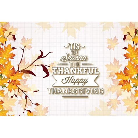 Thanksgiving Card Template Free Illustrator by Free Vector Illustration Of The Season To Be Thankful