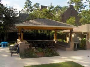 Gazebo In Backyard Outdoor Kitchen Gazebo Design 187 Backyard And Yard Design