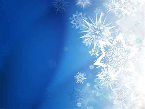 Magic Winter Snowflakes Psdgraphics Snowflake Powerpoint Background