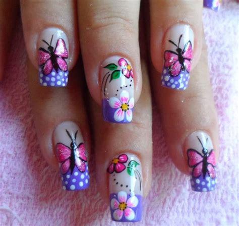imagenes de uñas pintadas faciles y bonitas 2014 las 25 mejores ideas sobre dise 241 os de u 241 as mariposas en