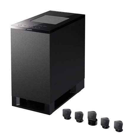 Small Home Speaker Sony Ht Is100 5 1 Ch Home Cinema Upgrade Kit Black