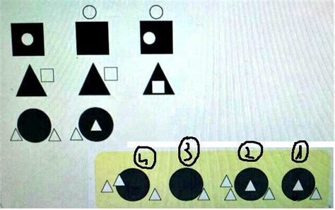 logic to pattern recognition tests puzzle pattern recognition next shape mathematics